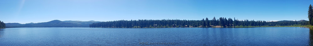 Placid Lake panorama shot with my Samsung Galaxy phone.