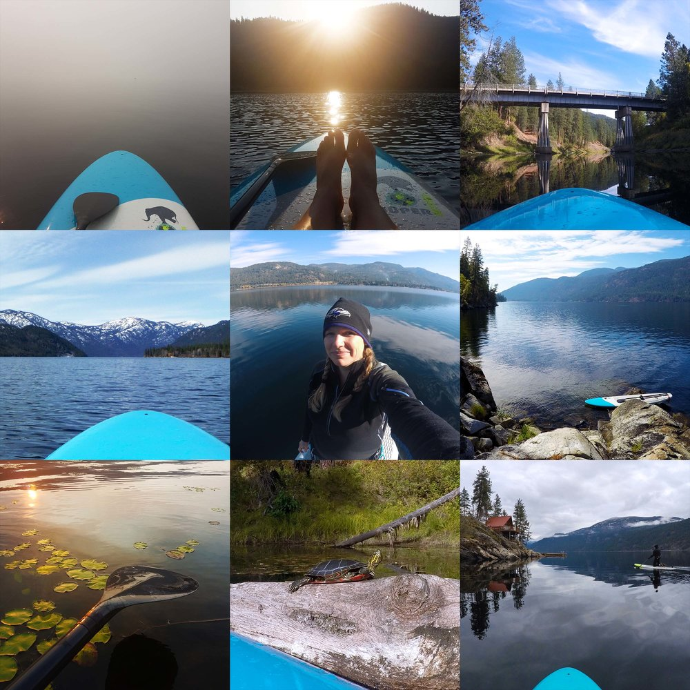 On the water in 2018… from snow-capped mountains, to early morning sunrises, to smoke so thick you couldn't see a thing!