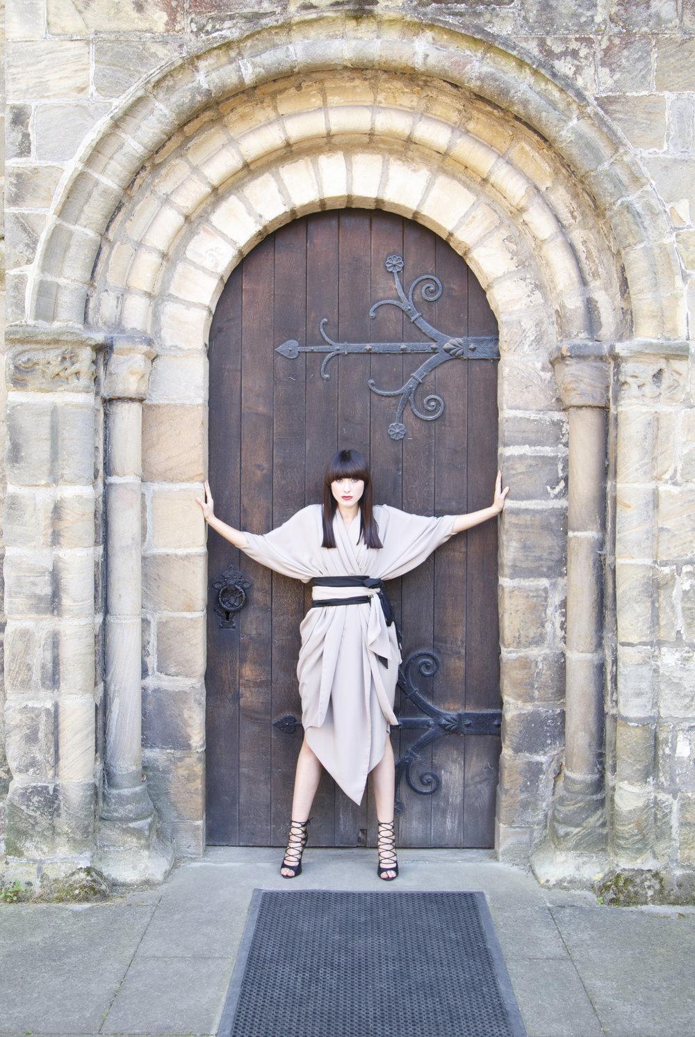 zaramia-ava-zaramiaava-leeds-fashion-designer-ethical-sustainable-nude-versatile-drape-ayame-jacket-emi-dress-obi-belt-black-ami-scarf-japanese-womenswear-arch-door-3