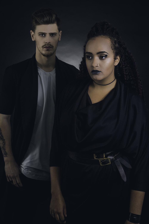 zaramia-ava-zaramiaava-leeds-fashion-designer-ethical-sustainable-grey-versatile-drape-menswear-mai-jacket-tshirt-layer-aya-black-dress-womenswear-5