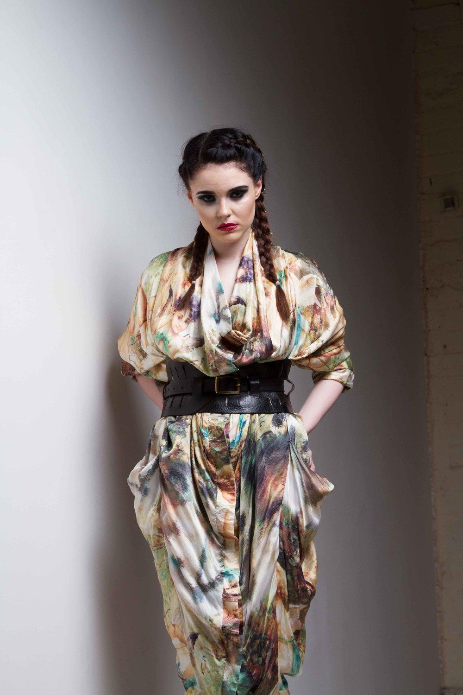 zaramia-ava-zaramiaava-leeds-fashion-designer-ethical-sustainable-cherub-versatile-drape-wrap-dress-cowl-print-aya-womenswear-belt-grunge-10
