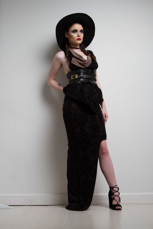 zaramia-ava-zaramiaava-leeds-fashion-designer-ethical-sustainable-nude-versatile-drape-wrap-top-cowl-maxi-skirt-print-hat-black-womenswear-grunge-1