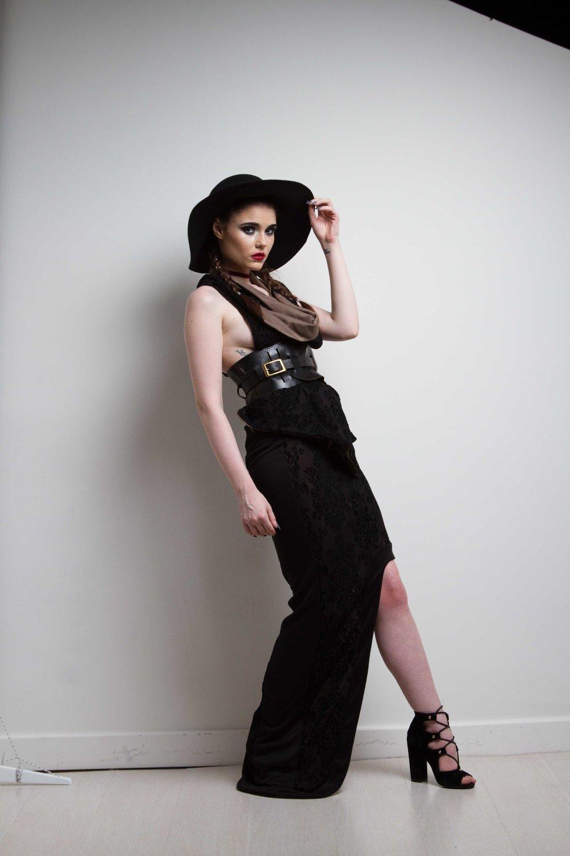 zaramia-ava-zaramiaava-leeds-fashion-designer-ethical-sustainable-nude-versatile-drape-wrap-top-cowl-maxi-skirt-print-hat-black-womenswear-grunge-3