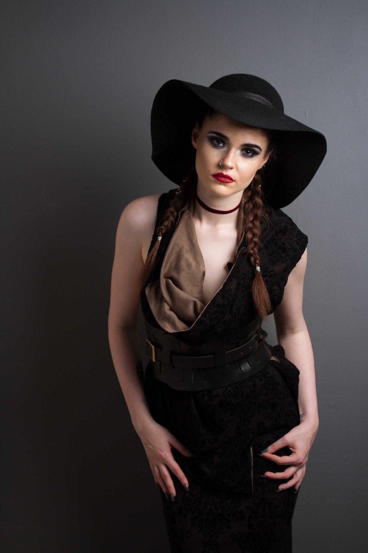 zaramia-ava-zaramiaava-leeds-fashion-designer-ethical-sustainable-nude-versatile-drape-wrap-top-cowl-maxi-skirt-print-hat-black-womenswear-grunge-14