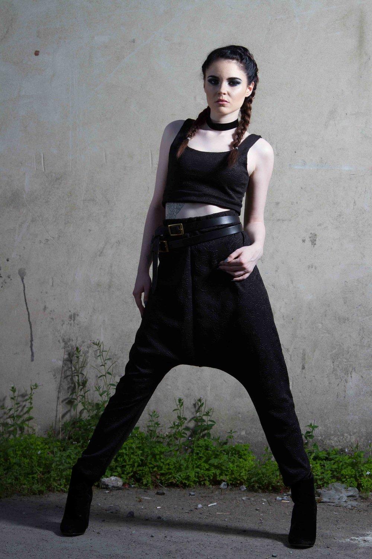 zaramia-ava-zaramiaava-leeds-fashion-designer-ethical-sustainable-black-versatile-drape-wrap-top-dress-cowl-maxi-bandeau-hareem-hood-black-womenswear-grunge-6
