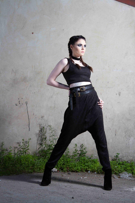 zaramia-ava-zaramiaava-leeds-fashion-designer-ethical-sustainable-black-versatile-drape-wrap-top-dress-cowl-maxi-bandeau-hareem-hood-black-womenswear-grunge-7