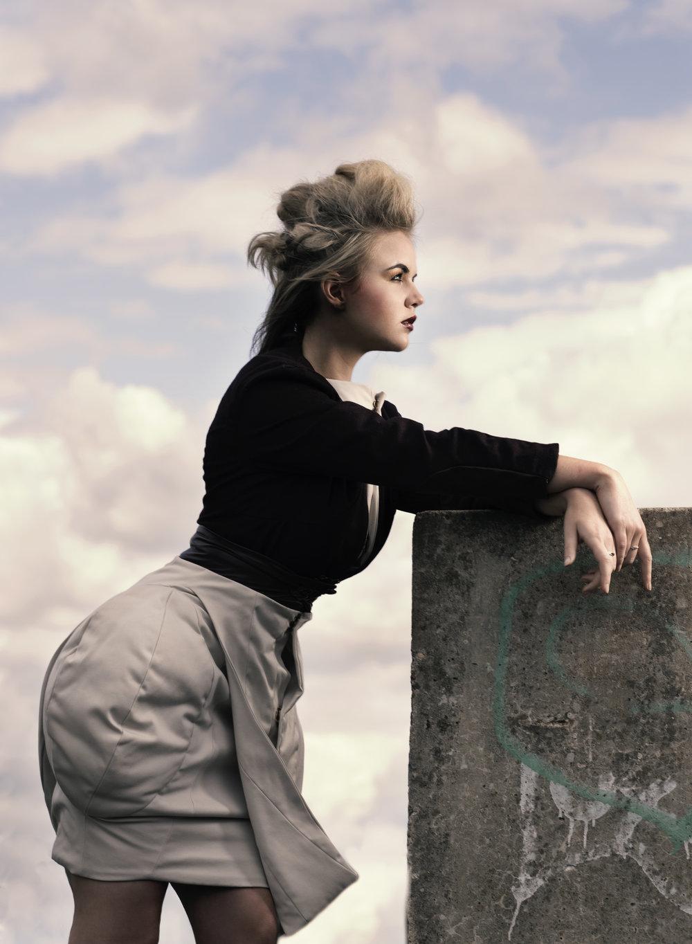 zaramia-ava-zaramiaava-leeds-fashion-designer-ethical-sustainable-taupe-versatile-drape-wrap-top-cowl-structure-padding-burgundy-crop-jacket-styling-location-womenswear-photoshoot-4