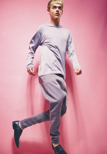 zaramia-ava-zaramiaava-leeds-fashion-designer-ethical-sustainable-grey-versatile-drape-wrap-black-kobe-hiroto-trousers-styling-studio-menswear-maverick-models-photoshoot-6