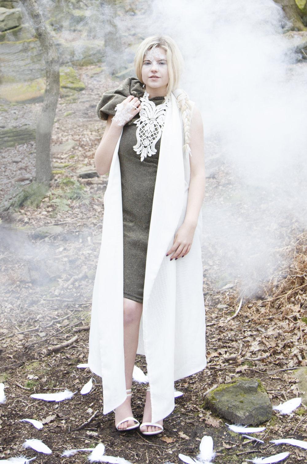 zaramia-ava-zaramiaava-leeds-fashion-designer-ethical-sustainable-smoke-versatile-drape-wrap-gold-cowl-white-dress-styling-location-womenswear-models-photoshoot-location-lace-3