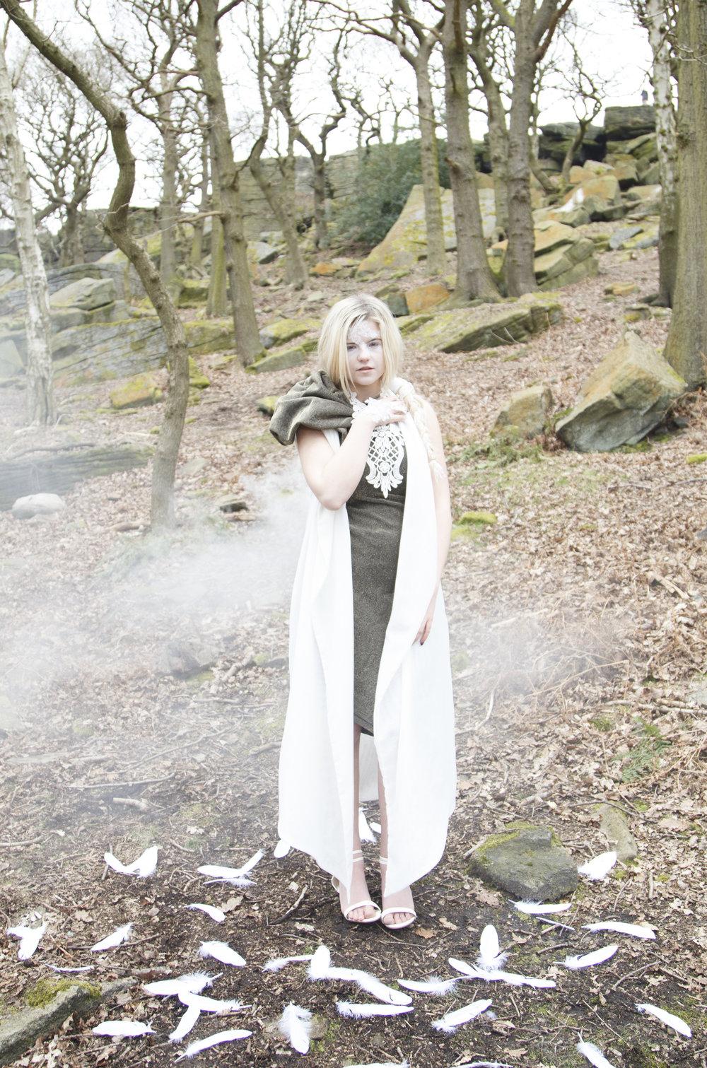 zaramia-ava-zaramiaava-leeds-fashion-designer-ethical-sustainable-smoke-versatile-drape-wrap-gold-cowl-white-dress-styling-location-womenswear-models-photoshoot-location-lace-4