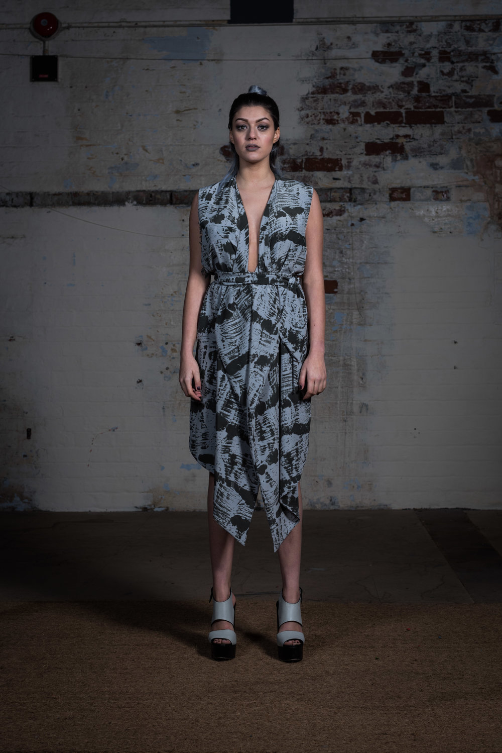 zaramia-ava-zaramiaava-leeds-fashion-designer-ethical-sustainable-kyo-print-jacket-dress-versatile-drape-skirt-grey-yuko-cowl-dress-styling-location-womenswear-models-photoshoot-11