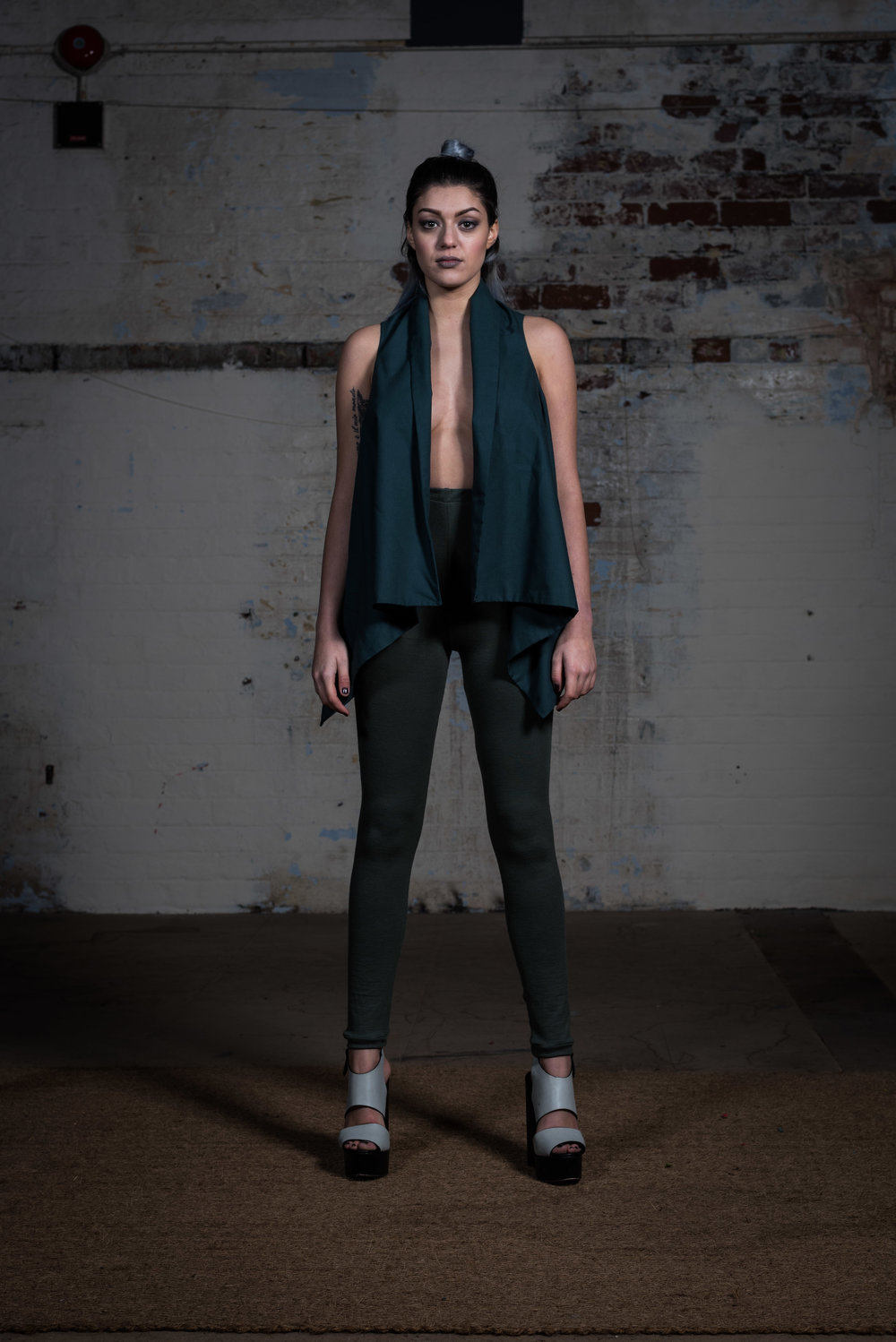 zaramia-ava-zaramiaava-leeds-fashion-designer-ethical-sustainable-teal-wrap-top-versatile-drape-grey-rei-cowl-leggings-styling-location-womenswear-models-photoshoot-22