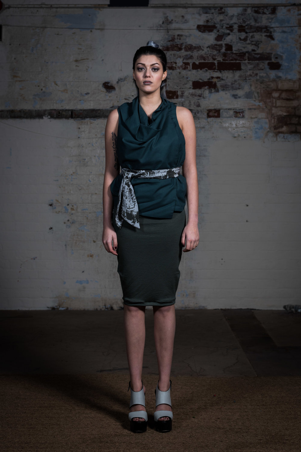 zaramia-ava-zaramiaava-leeds-fashion-designer-ethical-sustainable-teal-wrap-top-versatile-drape-skirt-grey-yuko-cowl-dress-styling-location-womenswear-models-photoshoot-1