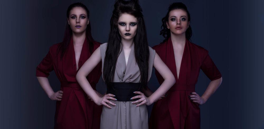 zaramia-ava-zaramiaava-leeds-fashion-designer-ethical-sustainable-mai-tailored-minimalist-jacket-red-burgungy-dress-versatile-drape-cowl-emi-nude-black-obi-three-styling-studio-womenswear-