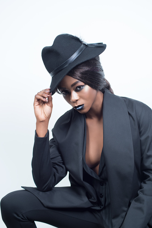 zaramia-ava-zaramiaava-leeds-fashion-designer-ethical-sustainable-tailored-minimalist-shirt-mio-mioka-rei-black-obi-belt-dress-versatile-drape-cowl-styling-studio-womenswear-models-photoshoot-black-white-4.jpg
