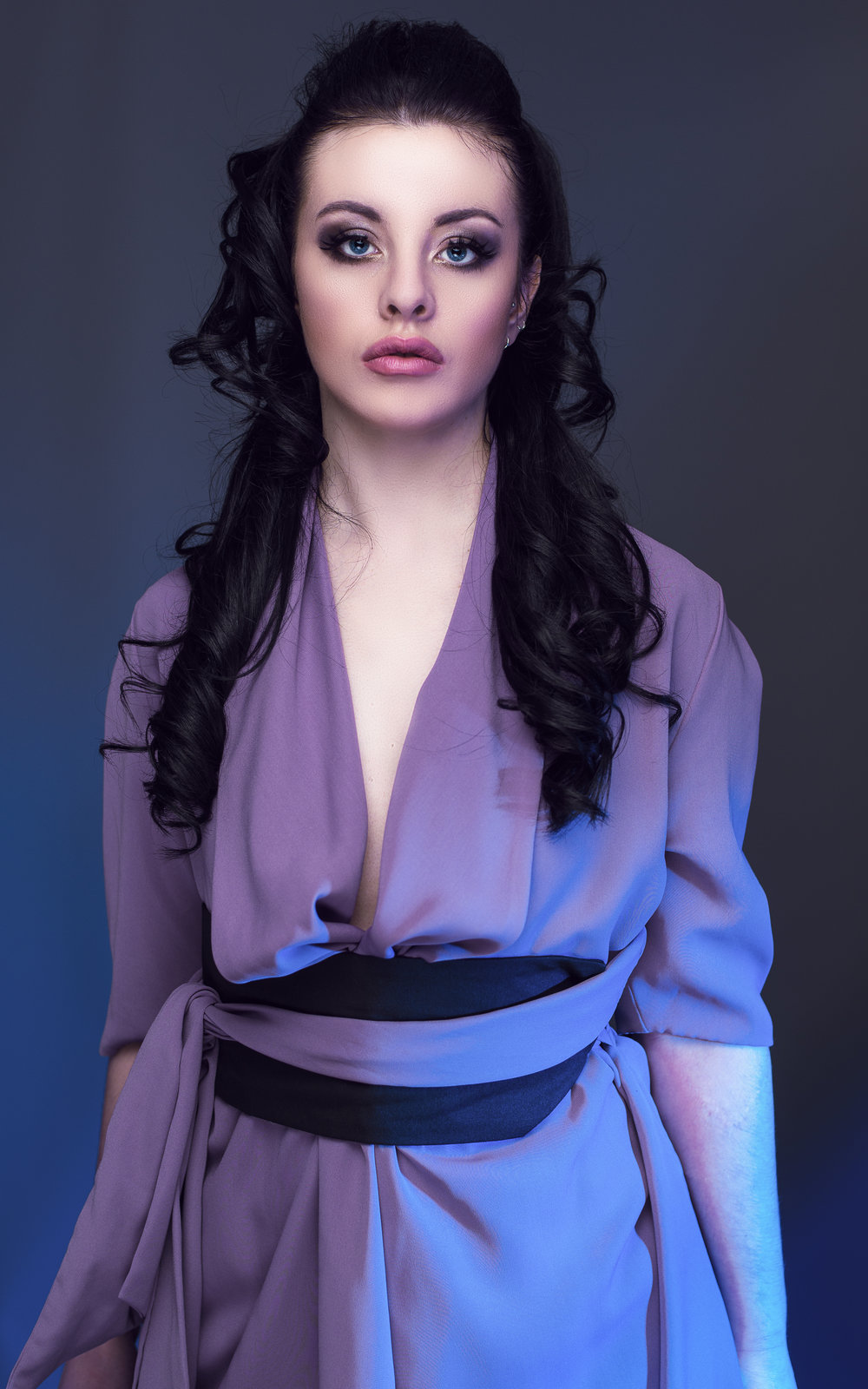 zaramia-ava-zaramiaava-leeds-fashion-designer-ethical-sustainable-tailored-minimalist-jacket-maika-mauve-black-obi-belt-dress-versatile-drape-cowl-styling-studio-womenswear-models-photoshoot-11
