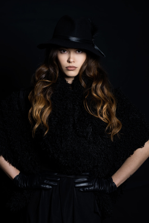 zaramia-ava-zaramiaava-leeds-fashion-designer-ethical-sustainable-tailored-minimalist-jacket-mai-black-obi-belt-dress-versatile-drape-cowl-styling-studio-womenswear-models-photoshoot-1