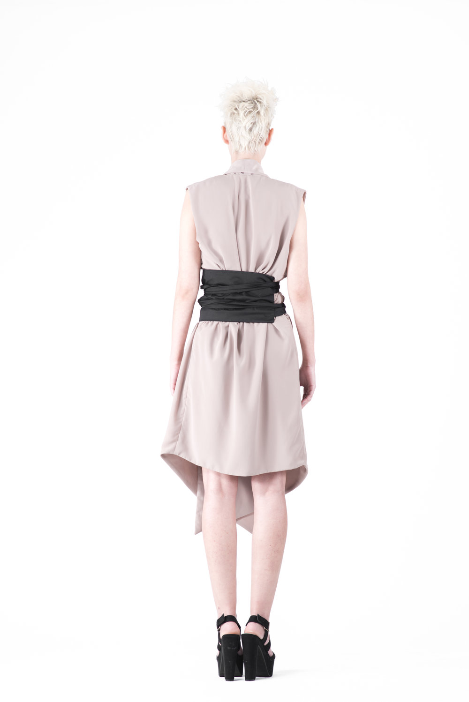 zaramia-ava-zaramiaava-leeds-fashion-designer-ethical-sustainable-tailored-minimalist-emi-nude-dress-obi-belt-black-versatile-drape-cowl-styling-womenswear-models-photoshoot-38