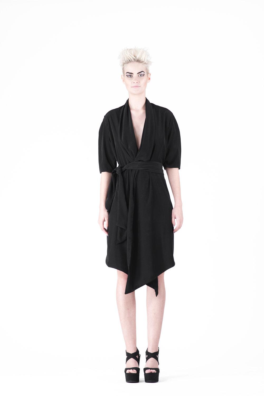 zaramia-ava-zaramiaava-leeds-fashion-designer-ethical-sustainable-tailored-minimalist-maika-dress-obi-belt-black-versatile-drape-cowl-styling-womenswear-models-photoshoot-41
