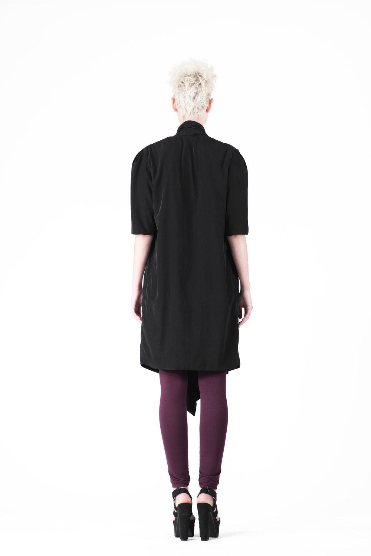 zaramia-ava-zaramiaava-leeds-fashion-designer-ethical-sustainable-tailored-minimalist-maika-dress-obi-belt-black-versatile-drape-cowl-styling-womenswear-models-photoshoot-44