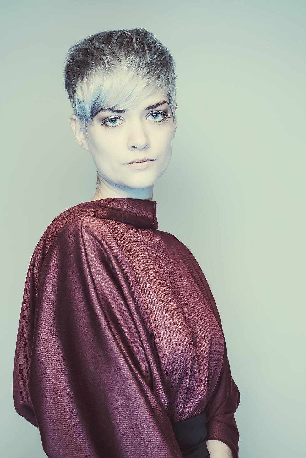 zaramia-ava-zaramiaava-leeds-fashion-designer-ethical-sustainable-tailored-minimalist-aya-burgundy-dress-obi-belt-black-versatile-drape-cowl-styling-womenswear-models-photoshoot-shrine-hairdressers-7