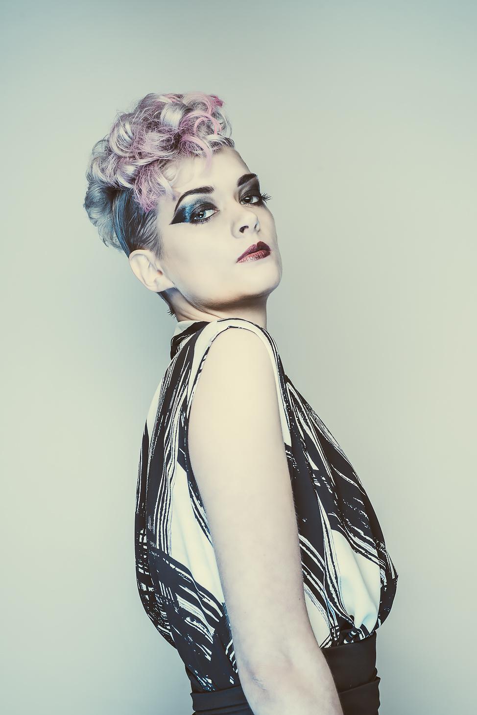 zaramia-ava-zaramiaava-leeds-fashion-designer-ethical-sustainable-tailored-minimalist-emi-print-black-belt-versatile-drape-cowl-styling-womenswear-models-photoshoot-shrine-hairdressers-67