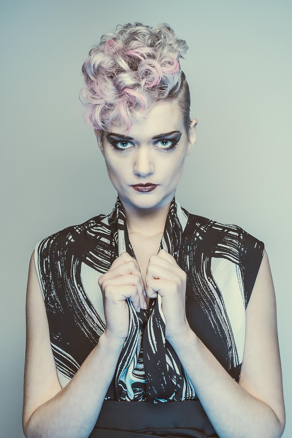 zaramia-ava-zaramiaava-leeds-fashion-designer-ethical-sustainable-tailored-minimalist-emi-print-black-belt-versatile-drape-cowl-styling-womenswear-models-photoshoot-shrine-hairdressers-71
