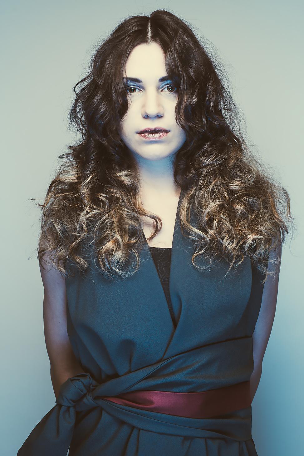 zaramia-ava-zaramiaava-leeds-fashion-designer-ethical-sustainable-tailored-minimalist-emika-grey-black-red-belt-versatile-drape-cowl-styling-womenswear-models-photoshoot-shrine-hairdressers-75