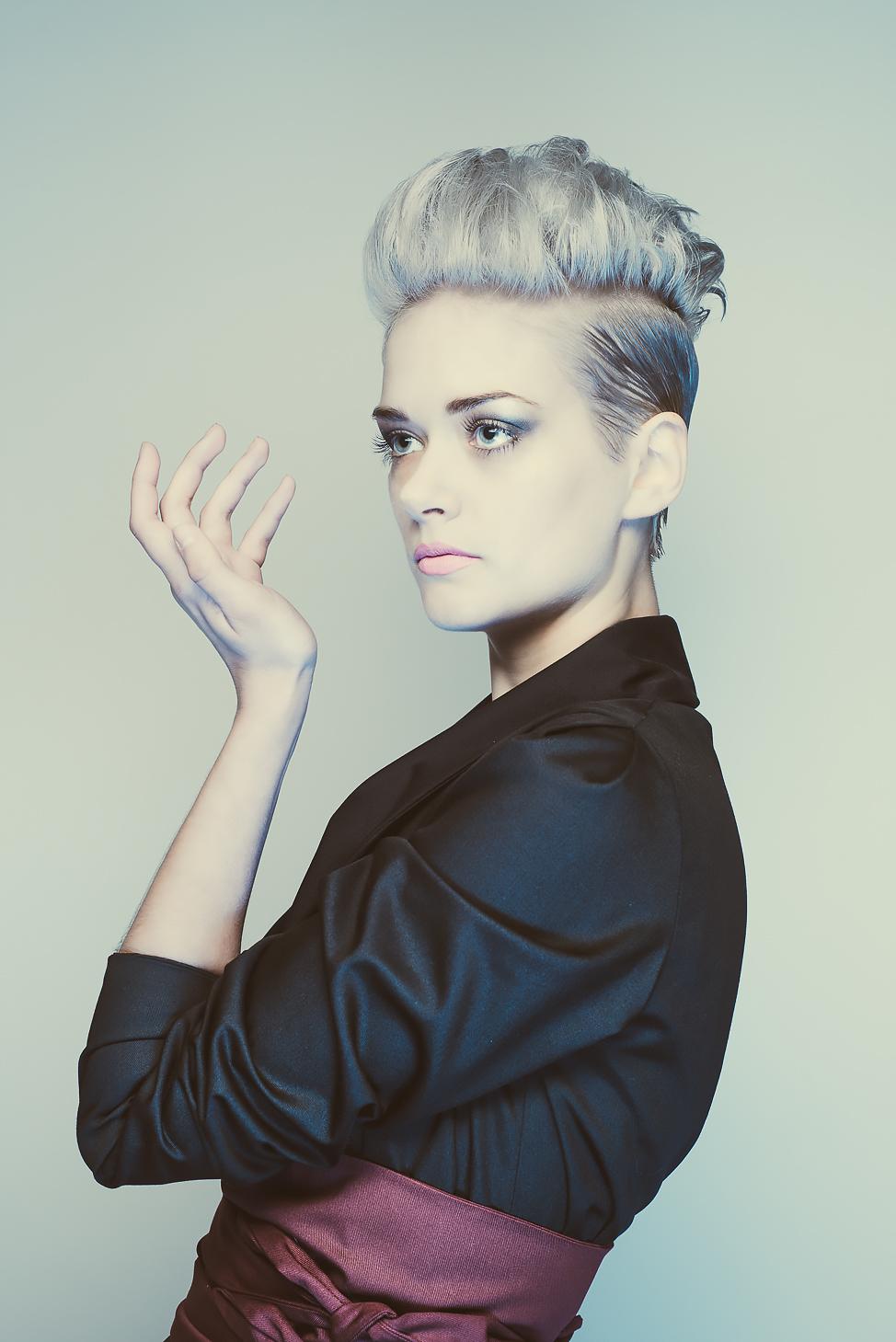 zaramia-ava-zaramiaava-leeds-fashion-designer-ethical-sustainable-tailored-minimalist-mio-black-jacket-top-red-belt-versatile-drape-cowl-styling-menswear-models-photoshoot-shrine-hairdressers-35