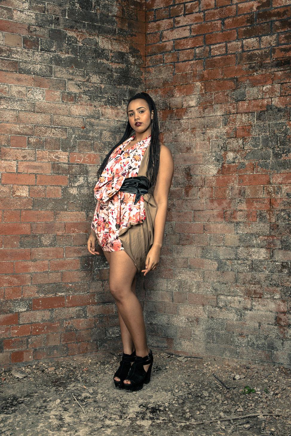zaramia-ava-zaramiaava-leeds-fashion-designer-ethical-sustainable-tailored-minimalist-burgundy-versatile-drape-dress-flower-nude-print-belt-wrap-cowl-styling-bodysuit-womenswear-models-photoshoot-10