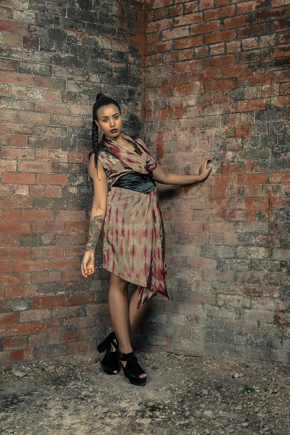 zaramia-ava-zaramiaava-leeds-fashion-designer-ethical-sustainable-tailored-minimalist-dress-emi-jacket-versatile-drape-print-bodysuit-black-obi-belt-wrap-cowl-styling-womenswear-models-photoshoot-28