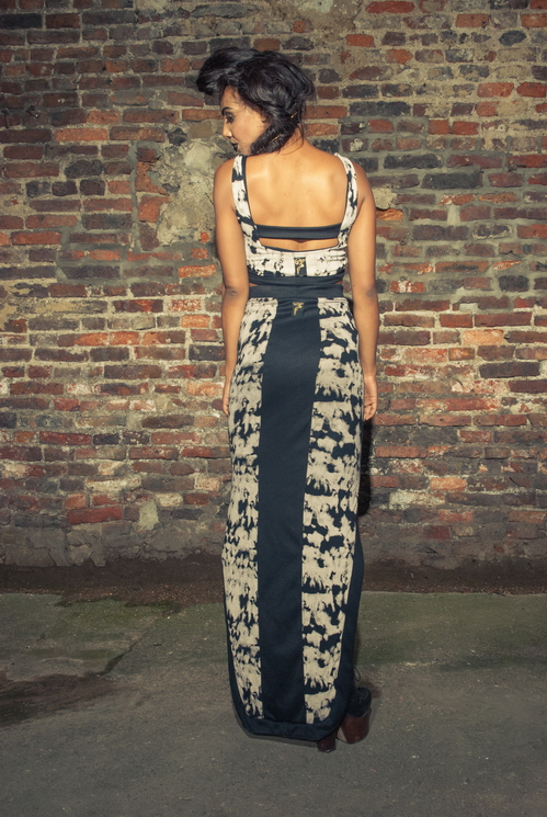 zaramia-ava-zaramiaava-leeds-fashion-designer-ethical-sustainable-tailored-minimalist-versatile-drape-bodysuit-bandeau-skirt-maxi-panels-print-belt-styling-womenswear-model-photoshoot--56