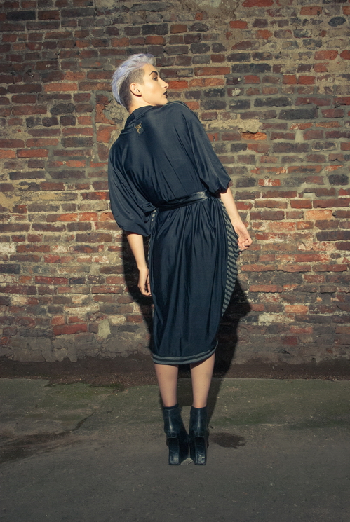 zaramia-ava-zaramiaava-leeds-fashion-designer-ethical-sustainable-tailored-minimalist-versatile-drape-wrap-dress-cowl-bodysuit-aya-midi-panels-print-belt-styling-womenswear-model-photoshoot--80
