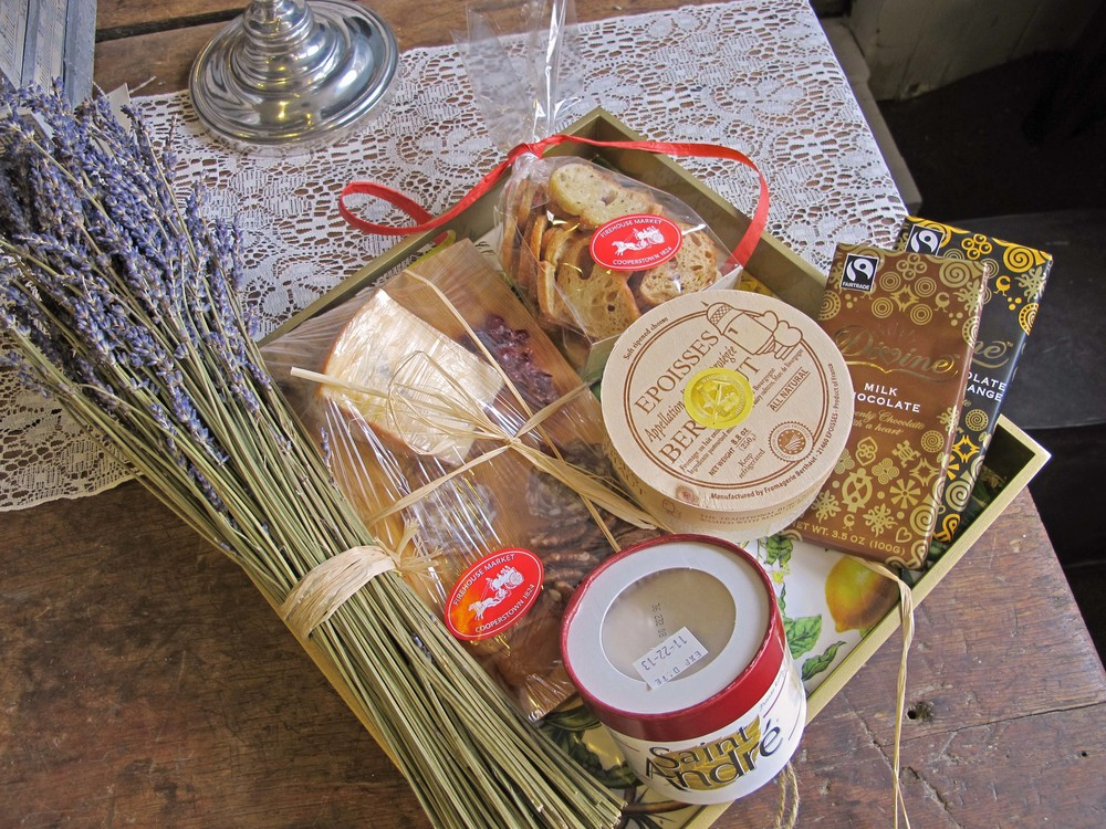 Custom Cheese/Charcuterie Plates and Gift Baskets make the season bright!