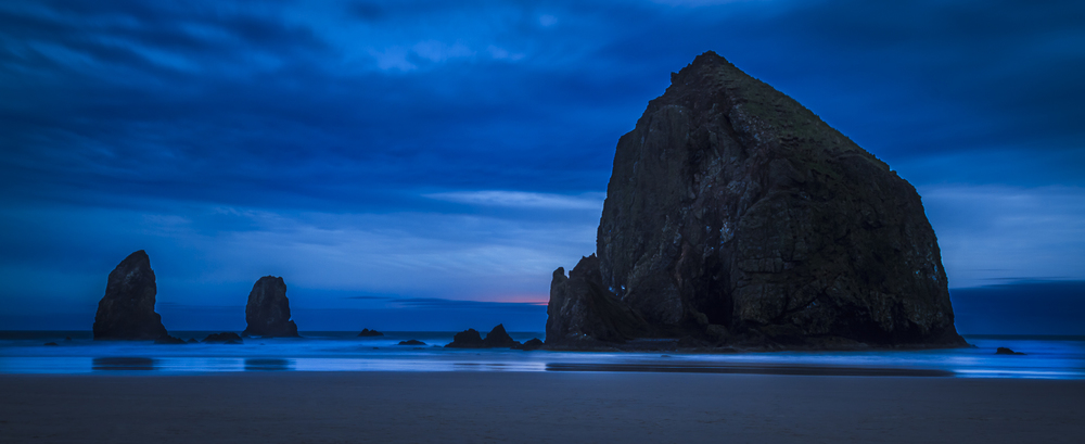 Haystack Rock with Needles - one of my all time favorite photos.