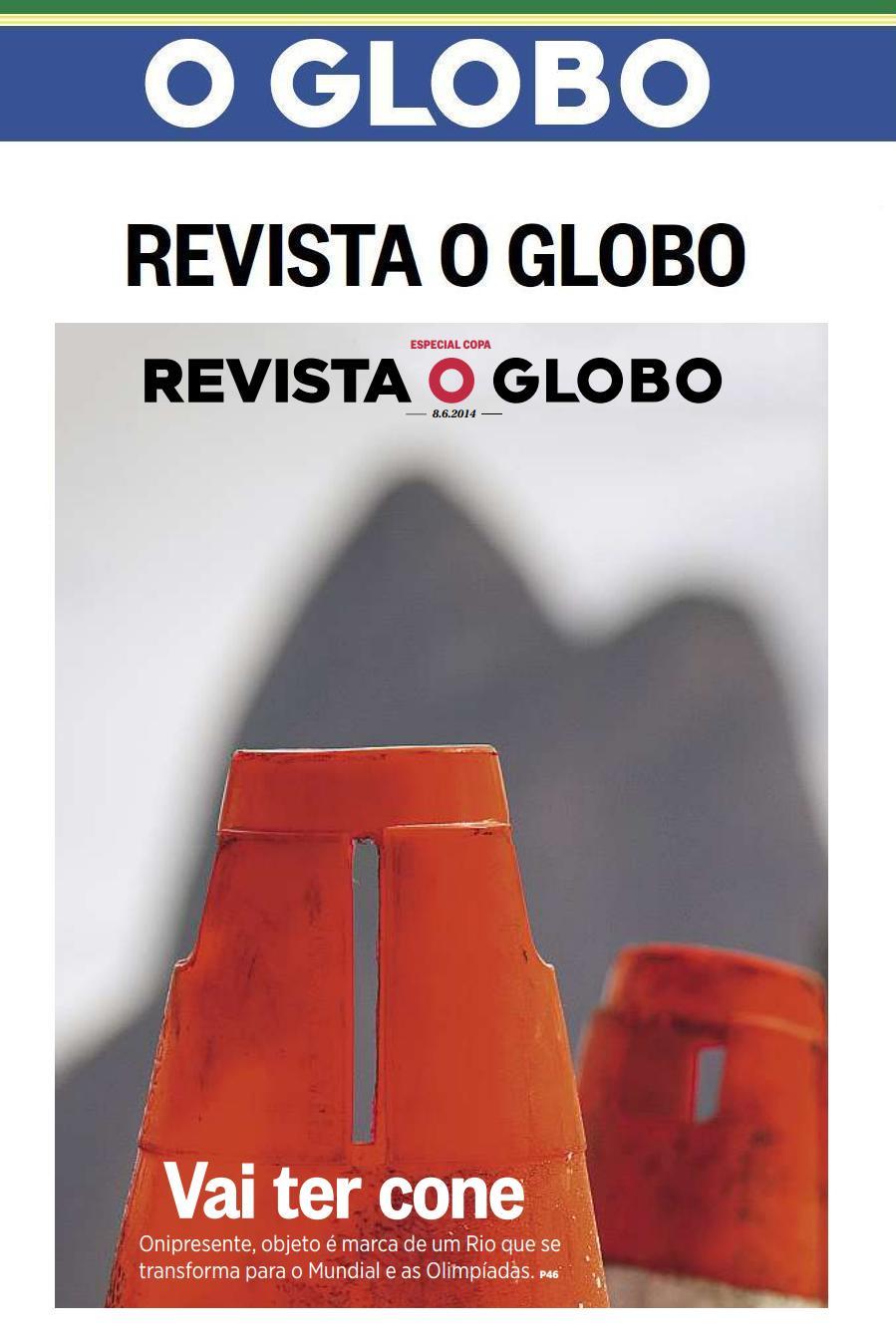 CYNTHIA PEDROSA NA REVISTA O GLOBO 08.06.2014.JPG