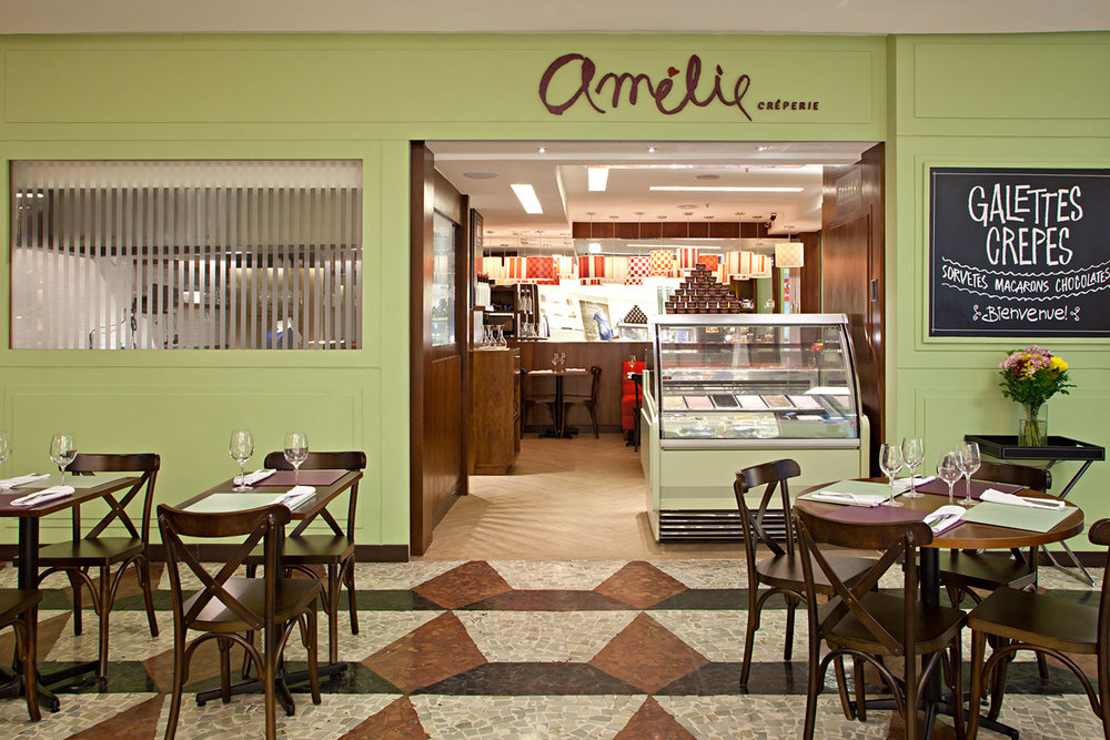 <strong>AMÉLIE CREPERIE</strong><br>restaurante