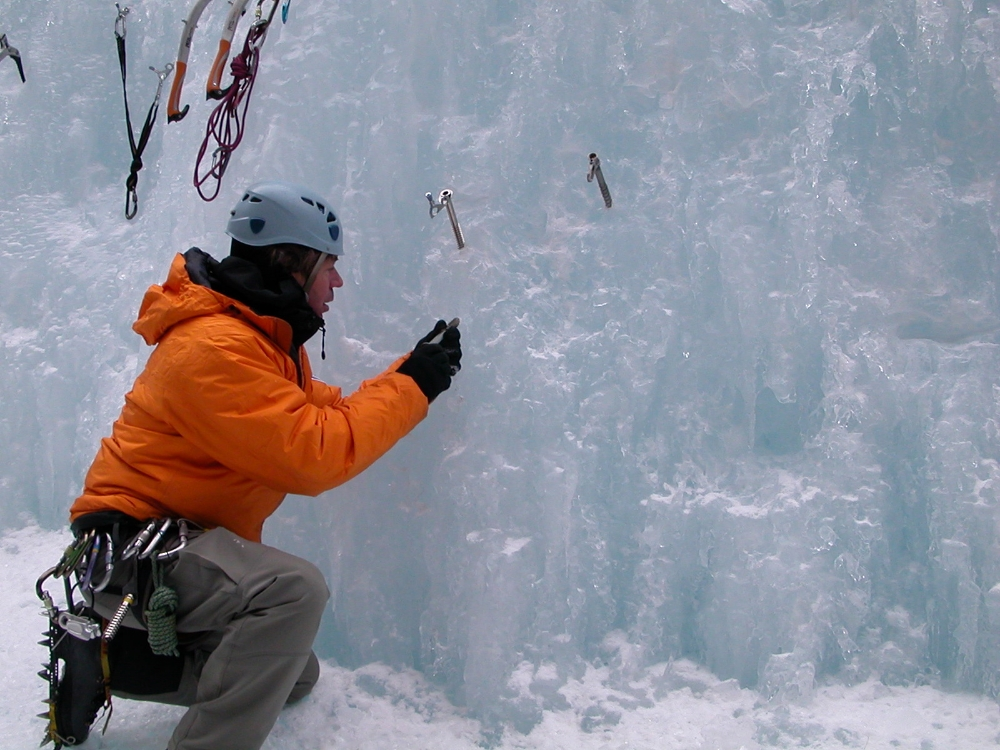 Teaching Ice Anchors