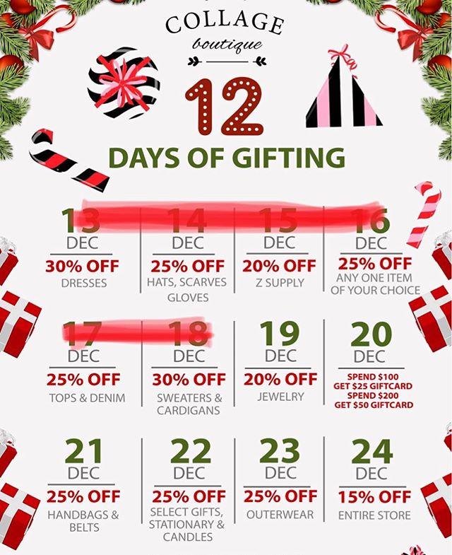 20% Off JEWLERY Tomorrow.. last 6 days of GIFTING 🎁🌲🎁