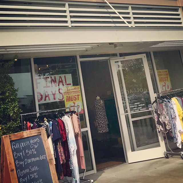 Final Days at our East Cobb Location. Up to 80% Off!! Stop by for deals of a life time. Thank you for 6 great years..#sale #boutique #fashion #eastcobber #eastcobbmoms #eastcobbsnobs