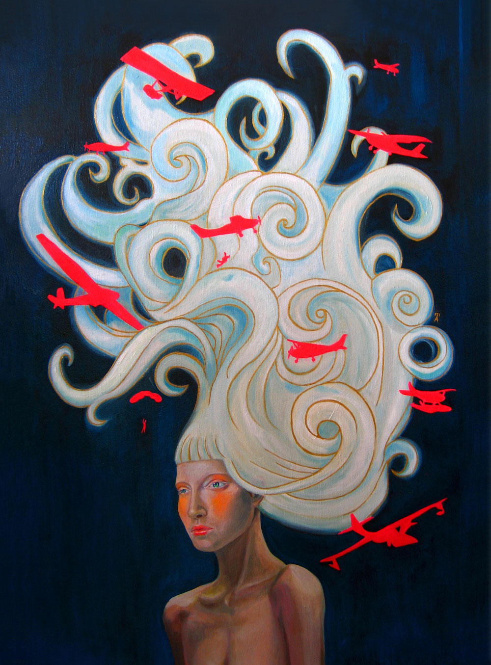 Cloud full of Hair, 2008