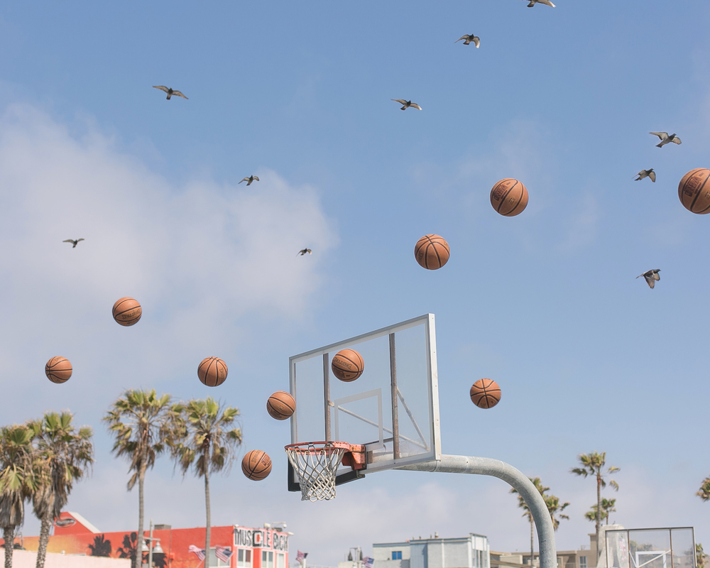 """Hoop Dreams"" / Venice, CA / May 2016"