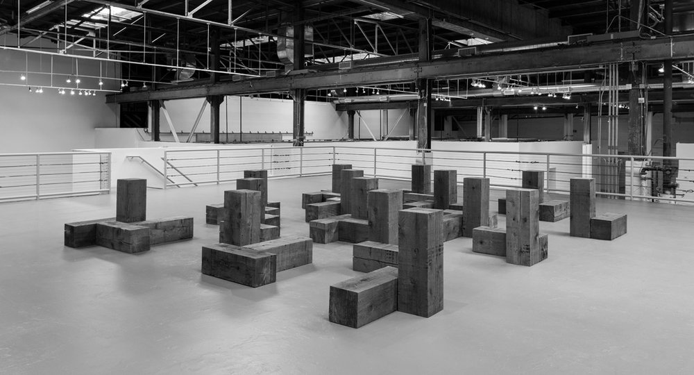 Sculpture as a Place, Art Exhibit // photo source: MOCA