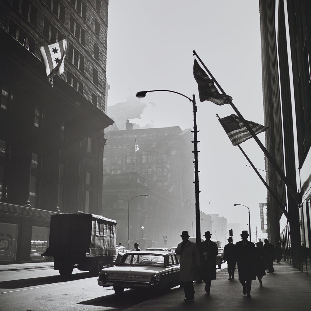 Vivian Maier: Photographs from the Maloof Collection, Art Exhibit @ KP Projects Gallery // photo source: kpprojects.net