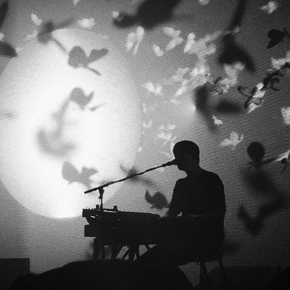 James Blake // photo by Leah Perrino