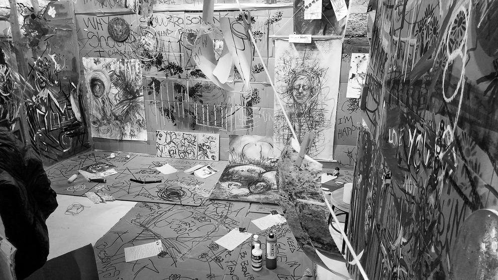 //Randi Matushevitz, art exhibit @Shoebox Projects