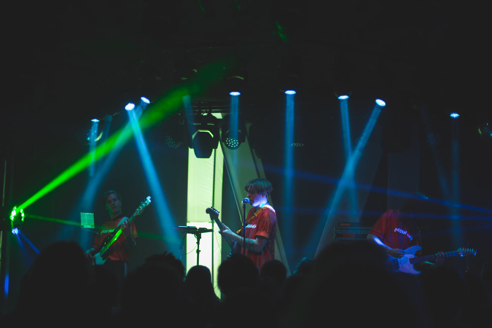 Moontower performing at The Moroccan Lounge, September 26, 2018