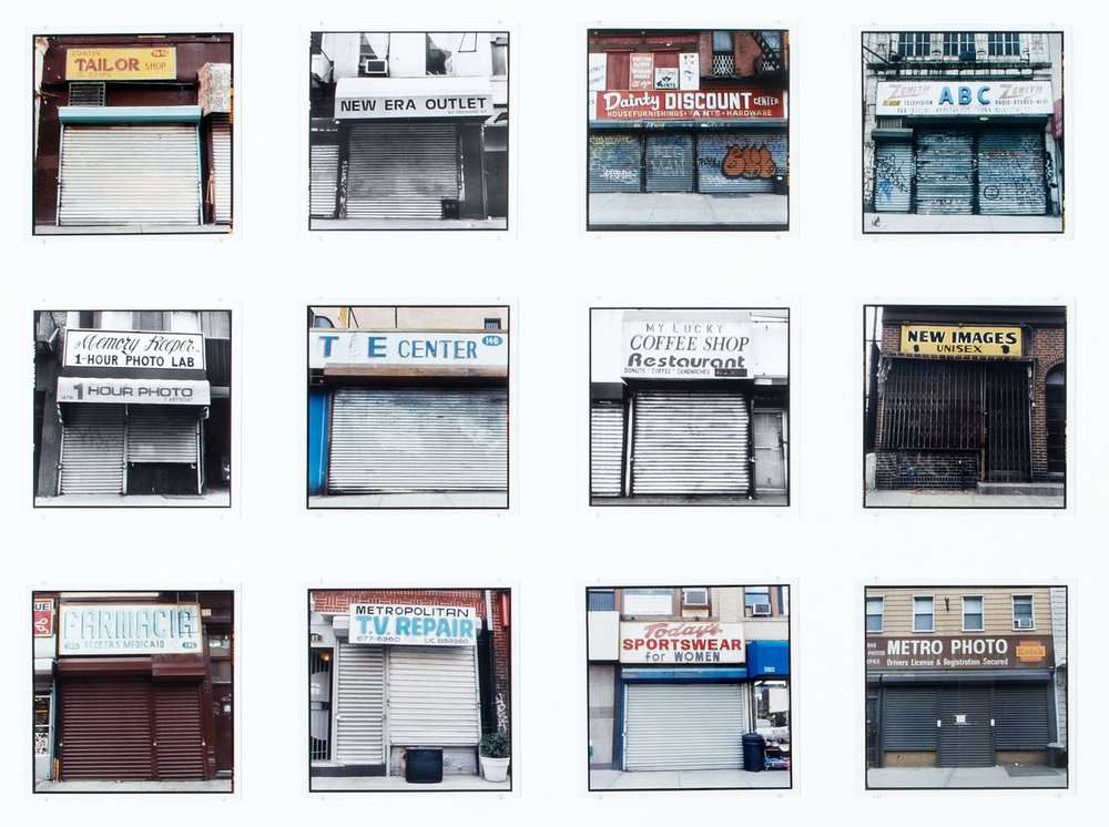 Zoe Leonard: Analogue, art exhibit @ Hauser & Wirth // photo source: Hauser & Wirth