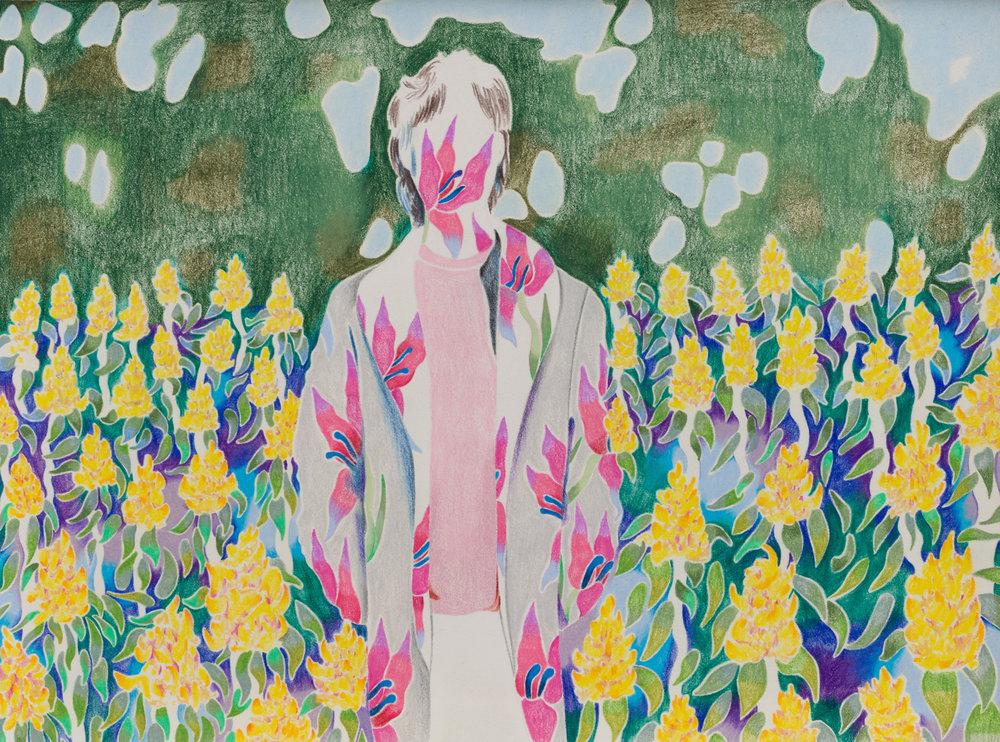 Sarah Ann Weber: Tropical Disease, art exhibit @ Anat Ebgi // photo source: anatebgi.com