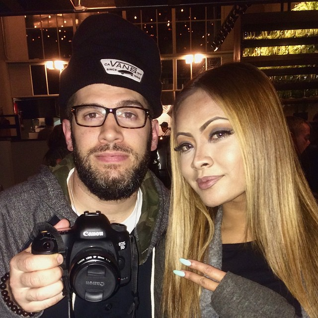 ¡@queenhoneyc & your boi! Shooting #Gwola.. Just wrapped Maino's verse... Stay tuned